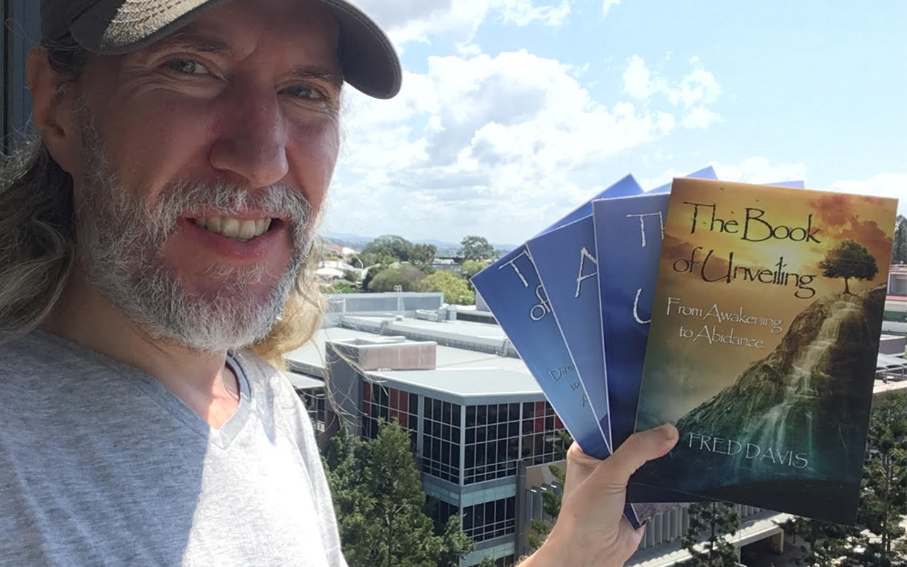Anthony Metivier with Fred Davis nonduality books