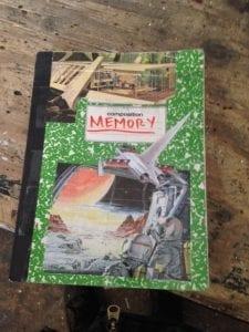 A Memory Palace journal